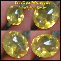 Jual (MURAH) FO FIRE OPAL WONOGIRI Kuning 8,9x7,5x4,5mm (10) Murah