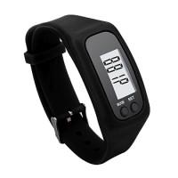 Gelang Pedometer Lcd Sport Pedometer Wristband Penghitung Kalori