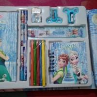 1 Set Perlengkapan Frozen / Alat tulis Karakter Frozen / Sekolah