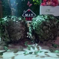 Aplikasi Daun Rambat (Bahan Bando Mahkota Bunga/Flower Crown)