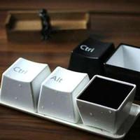 gelas mug / tempat makanan bentuk keyboard multifungsi - HHM385