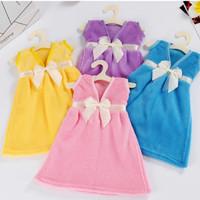 lap handuk bentuk gaun cantik - hbh074