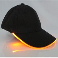 topi LED / topi bercahaya dengan glow stick - HHM379