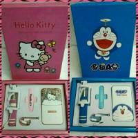 harga Paket Hemat PowerBank Doraemon & HelloKity/ Kado Ulang Tahun Tokopedia.com