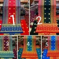kain suji palembang motif bunga sengkang
