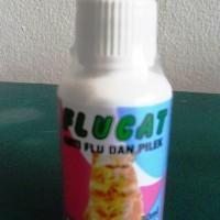 FLUCAT / FLU CAT obat flu pilek batuk hidung berair pada kucing