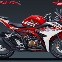 New CB150R RED White Splash SE