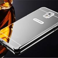 Jual Free Tempered Glass Case Samsung Galaxy Note 3 Casing Mirror Bumper Murah