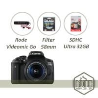 Canon EOS 750D 18-55mm RODE Video Gear
