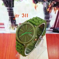 jam tangan converse sport pria wanita cowok cewek hijau army kekinian