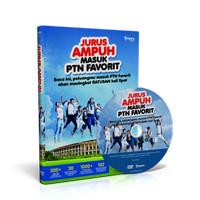 (Buku + Dvd) Jurus Ampuh Masuk Ptn Favorit [Bonus Jamu Ui & Ugm]