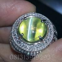 Natural Alexandrite Chrysoberyl Cata eye 9.05ct Orissa India GD Clean