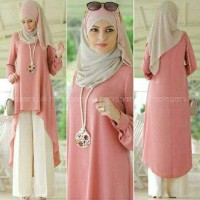 Krnvmcm Setelan Quince Kulot Hijab / Abidah Kulot 3in1 3wrn
