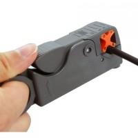 Jual Alat Pemotong Pengupas Kulit Kabel ~ Cable Stripper Cutter [ABU-ABU] Murah