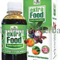 EXTRA FOOD  ektrak sinergi 21 buah dan sayuran UHQJ