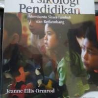 Psikologi Pendidikan Jeanne Ellis Ormrod buku 1