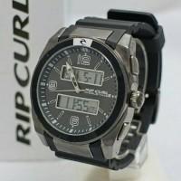 jam tangan ricurl double time/jam tangan pria tali karet