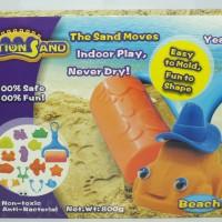 Jual Motion Sand / Kinetik Sand / Magic Sand / Pasir Ajaib Murah