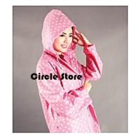 Raincoat Set / Jas Hujan Dress Fashion Polkadot