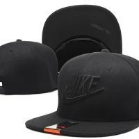 Topi Snapback Nike Hitam IMPORT