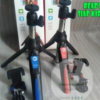 Tongsis Benro Mini Tripod Monopod untuk HP Kamera GoPRO MK10 bluetooth