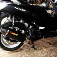 Knalpot Akrapovic Karbin Fullset Buat Yamaha Nmax
