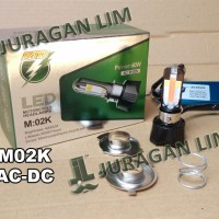 harga Lampu Headlamp LED RTD M02K - 4 sisi/titik AC DC + DEVIL & ANGEL EYES Tokopedia.com