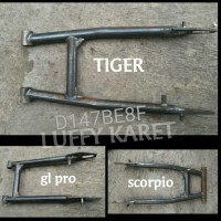 swing arm custom motor scorpio, tiger, glpro, cb