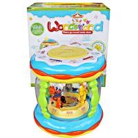 Mainan Balita Wonderland Music Drum Suara Binatang Cerita Musik