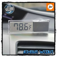 harga Temperatur Digital / Car Small Temperature Meter with Suction Cup Tokopedia.com