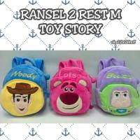 harga Tas Ransel Anak - Ransel 2 Resleting Boneka Karakter Toy Story sz M Tokopedia.com