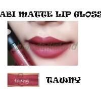 Jual nabi matte long lasting lip gloss tawny Murah