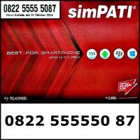 Nomor Cantik Telkomsel simPATI 4G LTE Panca Bahan Sakti 0822.555550.87