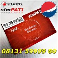Nomor Cantik Telkomsel simPATI 4G LTE Panca Bahan Sakti 08131.59999.80