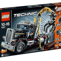 LEGO Technic # 9397 Logging Truck Truk Besar Power Functions Control