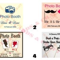 Photo Booth Coupon atau Kupon Photobooth Pernikahan