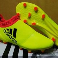 sepatu soccer adidas x16+ yellow grade ori import