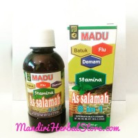 MADU BATUK, FLU &DEMAM AS SALAMAH