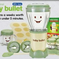 Magic Baby Bullet Magic Bullet Food Processor (Baby Bullet)