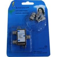 WL Splitter TV Merk Rayden 2 Cabang (CATV Directional Coupler)