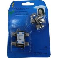 WL Splitter TV Merk Rayden 3 Cabang (CATV Directional Coupler)