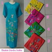 Grosir daster jumbo batik pekalongan baju tidur wanita murah
