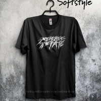 baju kaos band distro gildan revenge the fate rtf
