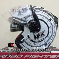 harga NHK Helm Gladiator Kompas - Double Visor Compas Tokopedia.com