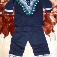setelan baju koko/baju muslim anak fjm untuk 1 - 2 tahun