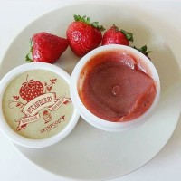 SKINFOOD blacksugar strawberry wash off mask 100gr