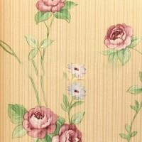 wallpaper bunga floral flower shabby chic vintage (KING XTE3050)