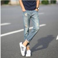Celana jeans pria straight / Korean style