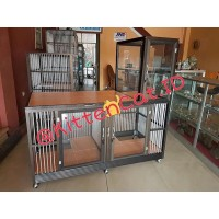 harga Kandang Kucing Aluminium Stainless Steel Tokopedia.com