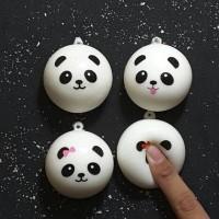 squishy mini panda bun